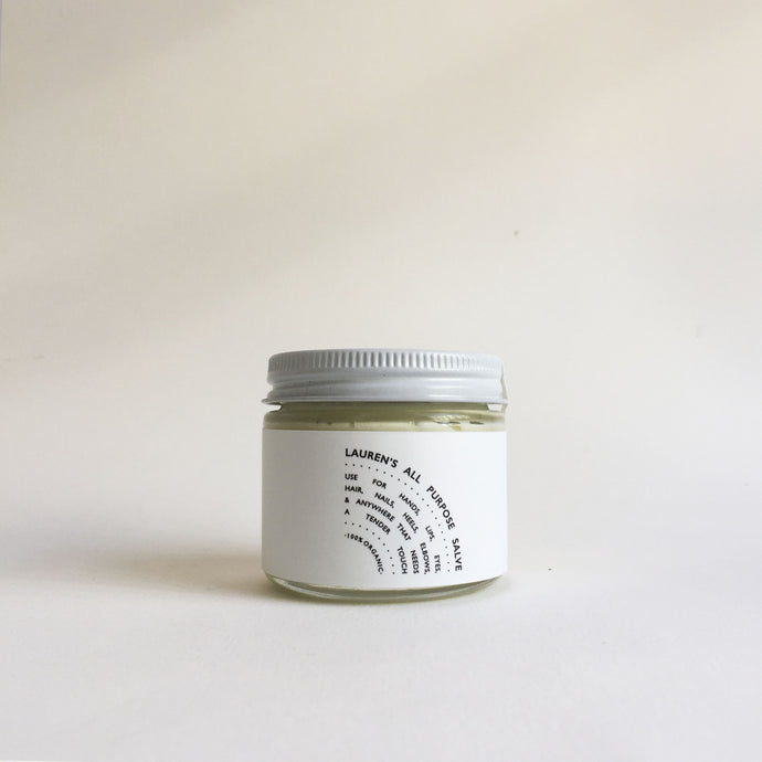Lauren's All Purpose Salve - Travel Jar