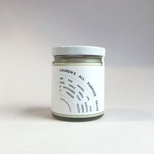 Lauren's All Purpose Salve - Classic Jar