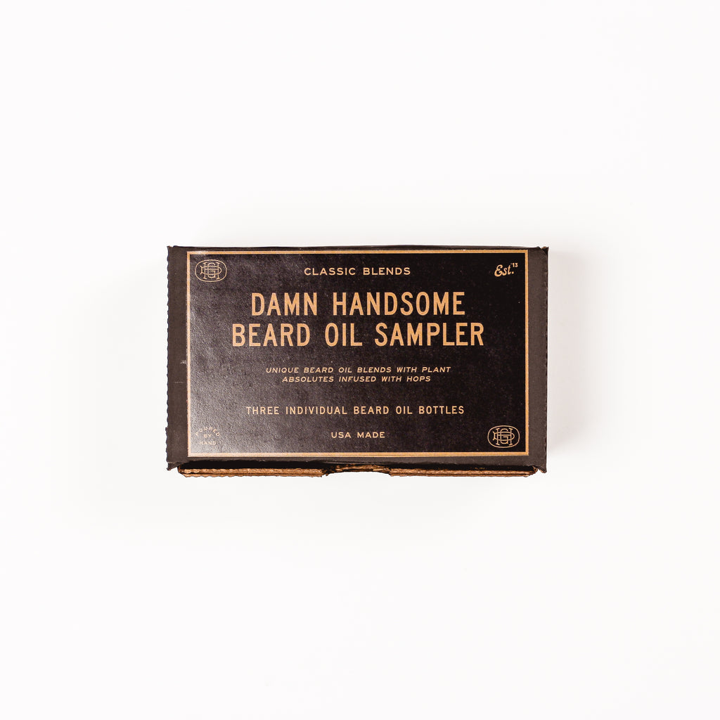 Beard Oil Classic Sampler