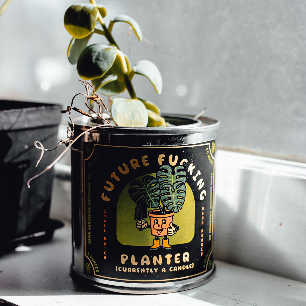 Future F**king Planter Candle