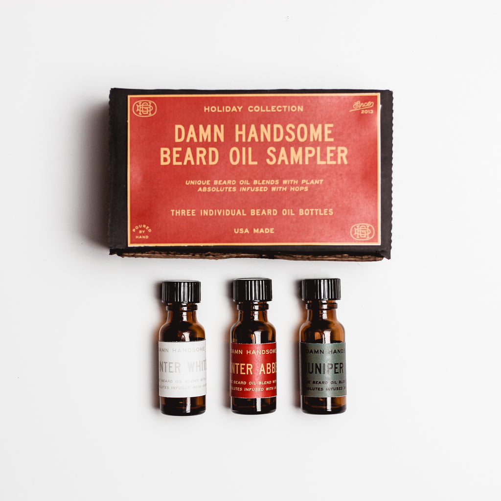 Beard Oil Holiday Sampler