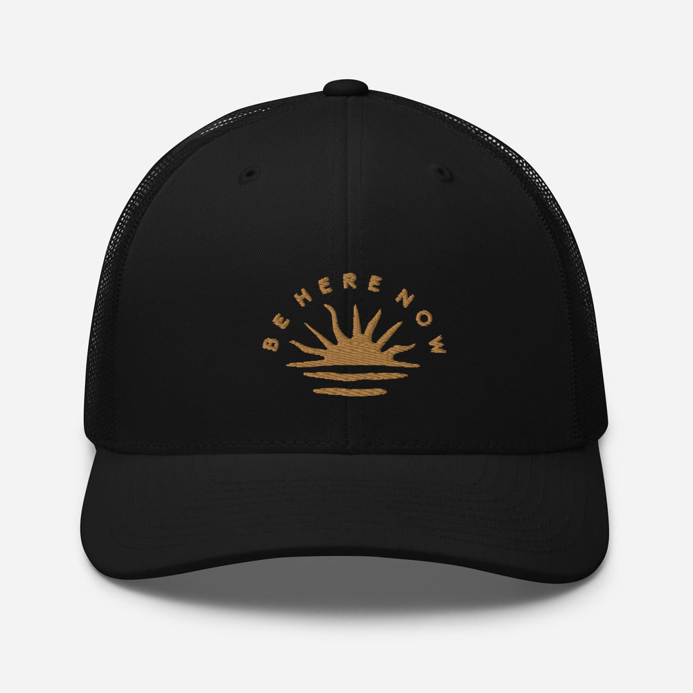 Be Here Now Trucker Cap