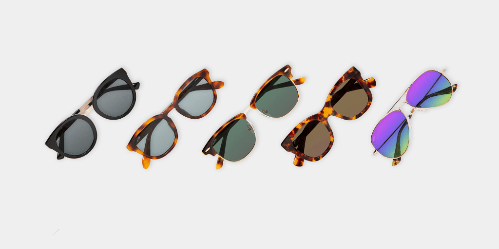the mihi sunglasses range