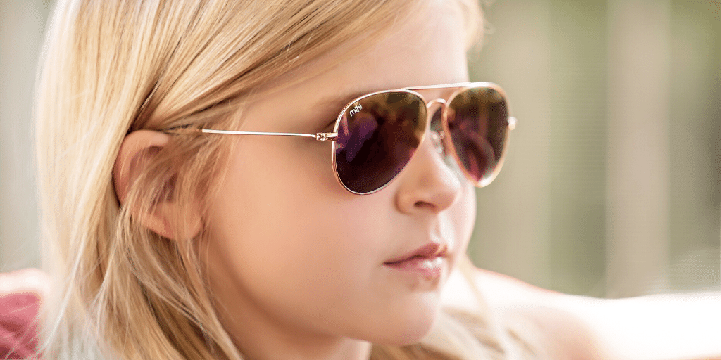 lexi wearing soho mihi sunglasses