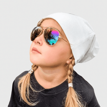Load image into Gallery viewer, sienna wearing mihi kids sunglasses - the soho design