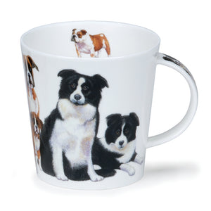 Cairngorm Dogs + Puppies Collie Mug