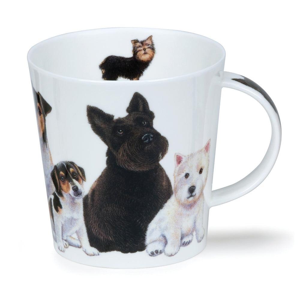 Cairngorm Dogs + Puppies Scotties Mug