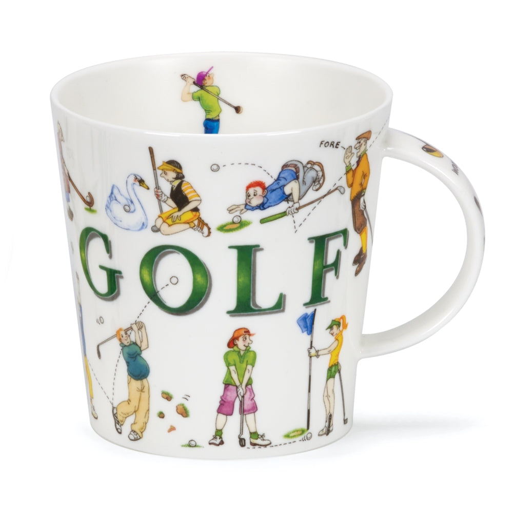 Cairngorm Sporting Antics Golf Mug