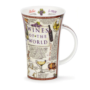 Glencoe Wines of the World Mug