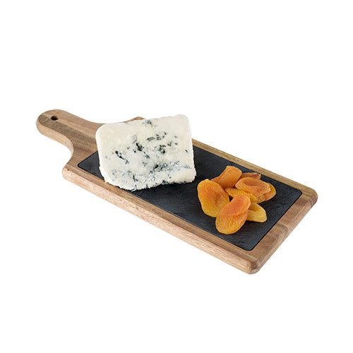 Slate + Wood Cheese Board