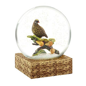 Partridge + Pears Snow Globe