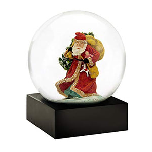 Saint Nick Snow Globe