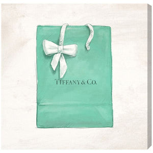 Jewelry Shopping Bag Wall Art