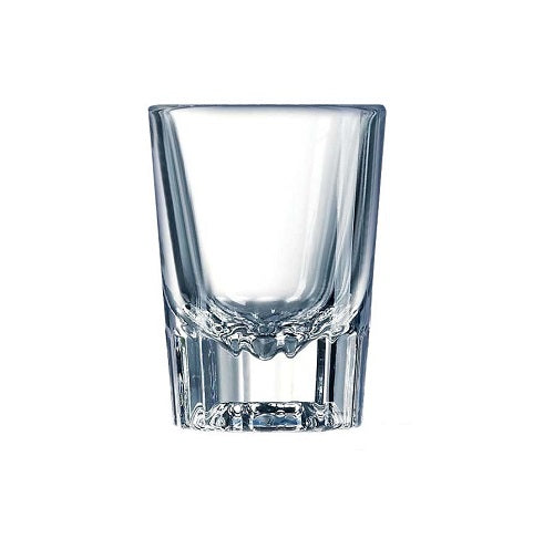 Clear 2oz Fluted Shot Glass (Set of 6)