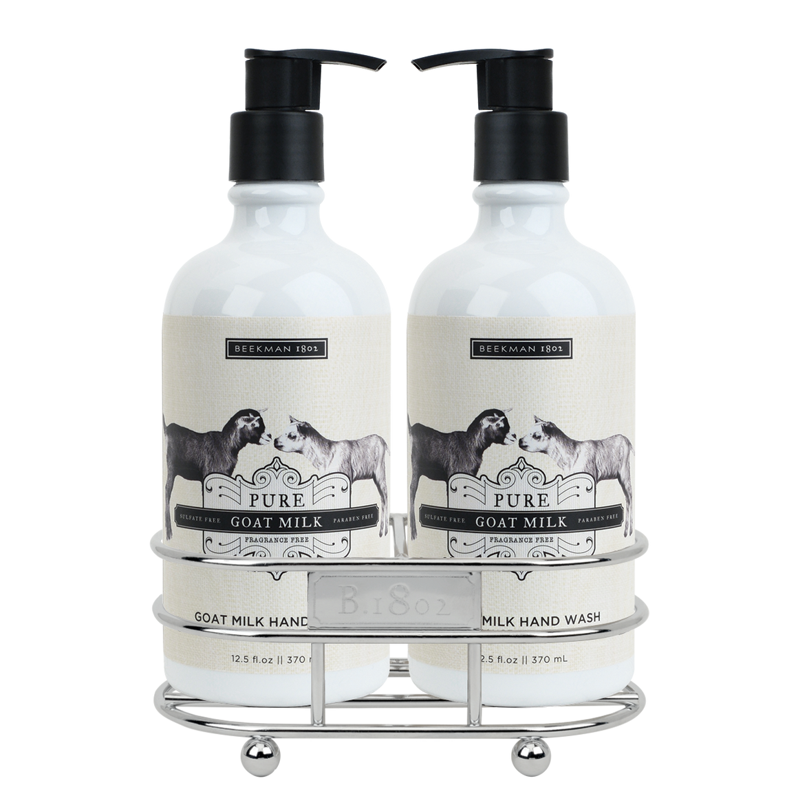 Pure Goat Milk Hand Care Duo Caddy