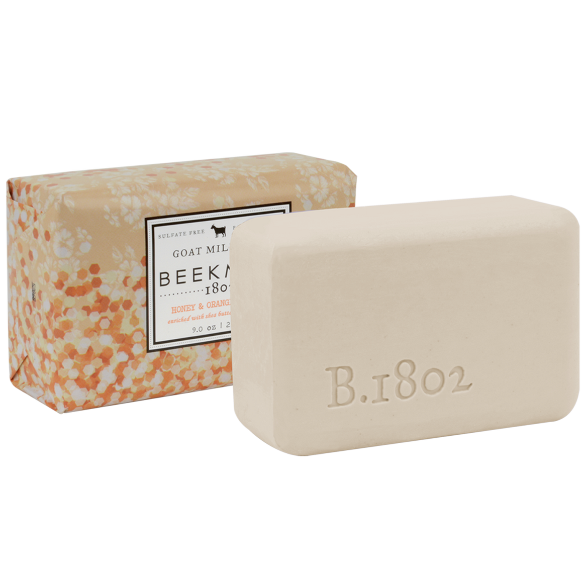 Honey + Orange Blossom Goat Milk Bar Soap