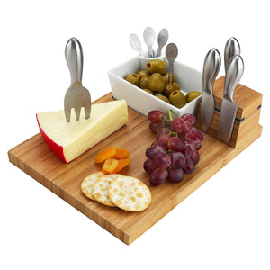 Buxton Cheese Board + Tools Set