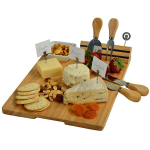Windsor Cheese Board w/ Cheese Markers