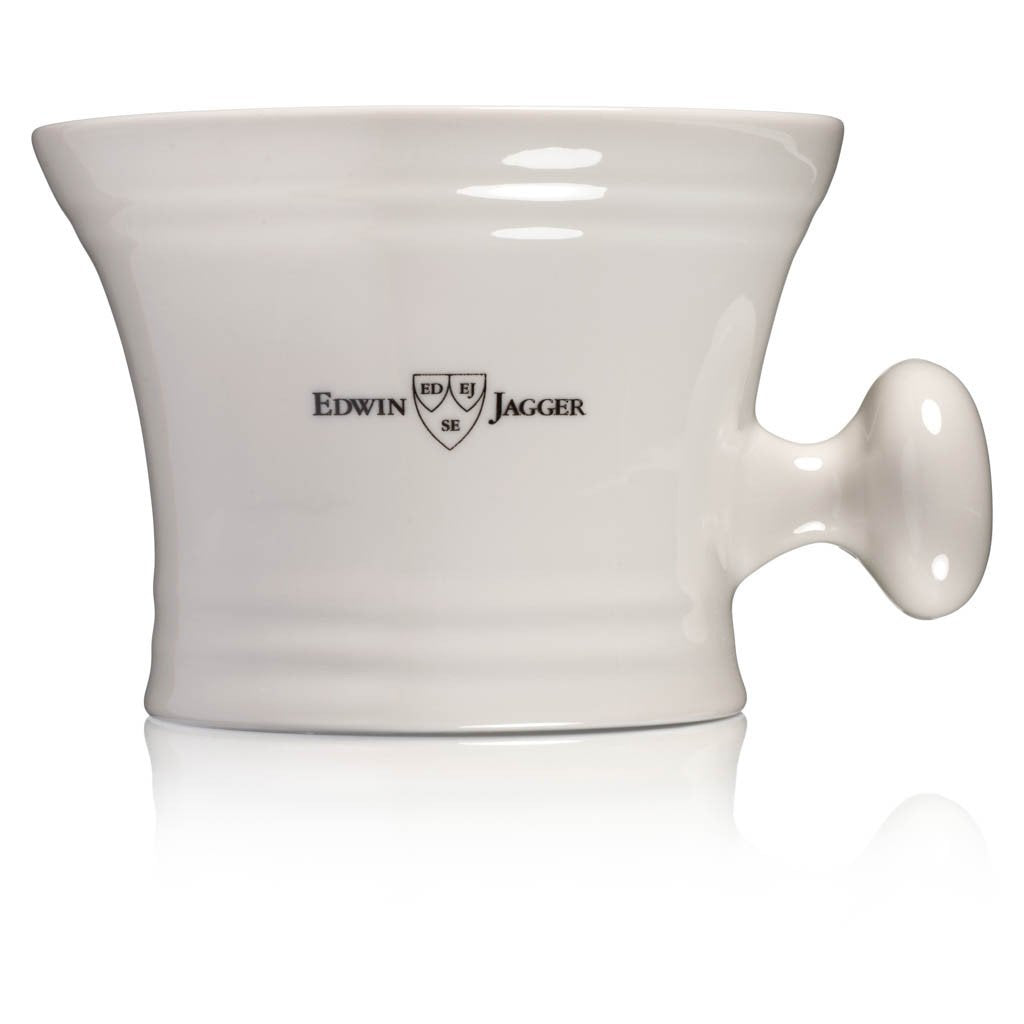 Ivory Porcelain Shaving Bowl With Handle