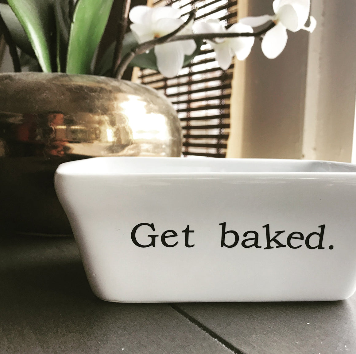 Get Baked Mini Ceramic Loaf Pan