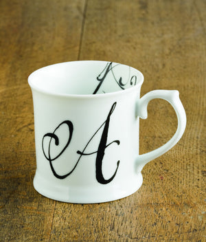 "Initially Yours Mug - ""A"""