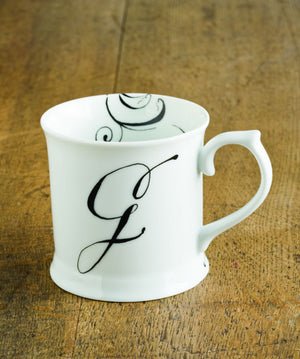 "Initially Yours Mug - ""G"""