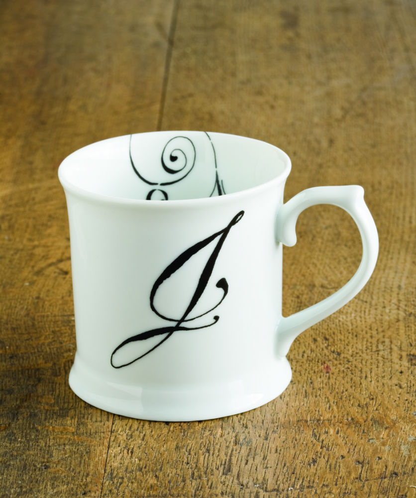 "Initially Yours Mug - ""J"""