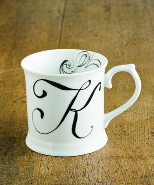 "Initially Yours Mug - ""K"""