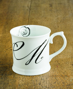 "Initially Yours Mug - ""M"""