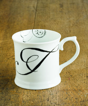 "Initially Yours Mug - ""T"""