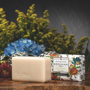 MacKenzie-Childs Flower Market Goat Milk Bar Soap