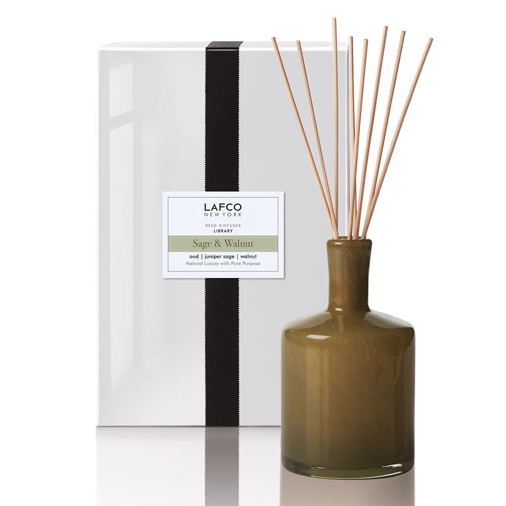 Sage & Walnut Reed Diffuser | Library