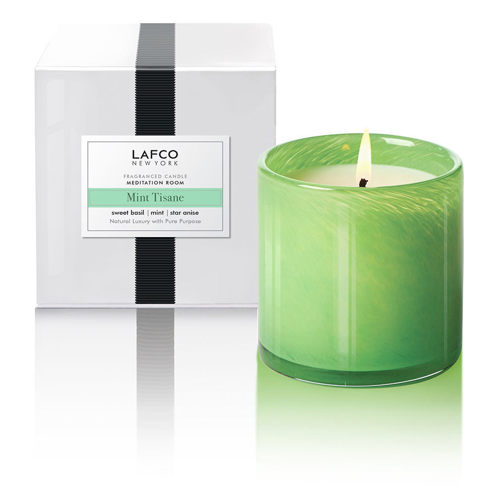 Mint Tisane Candle | Meditation Room