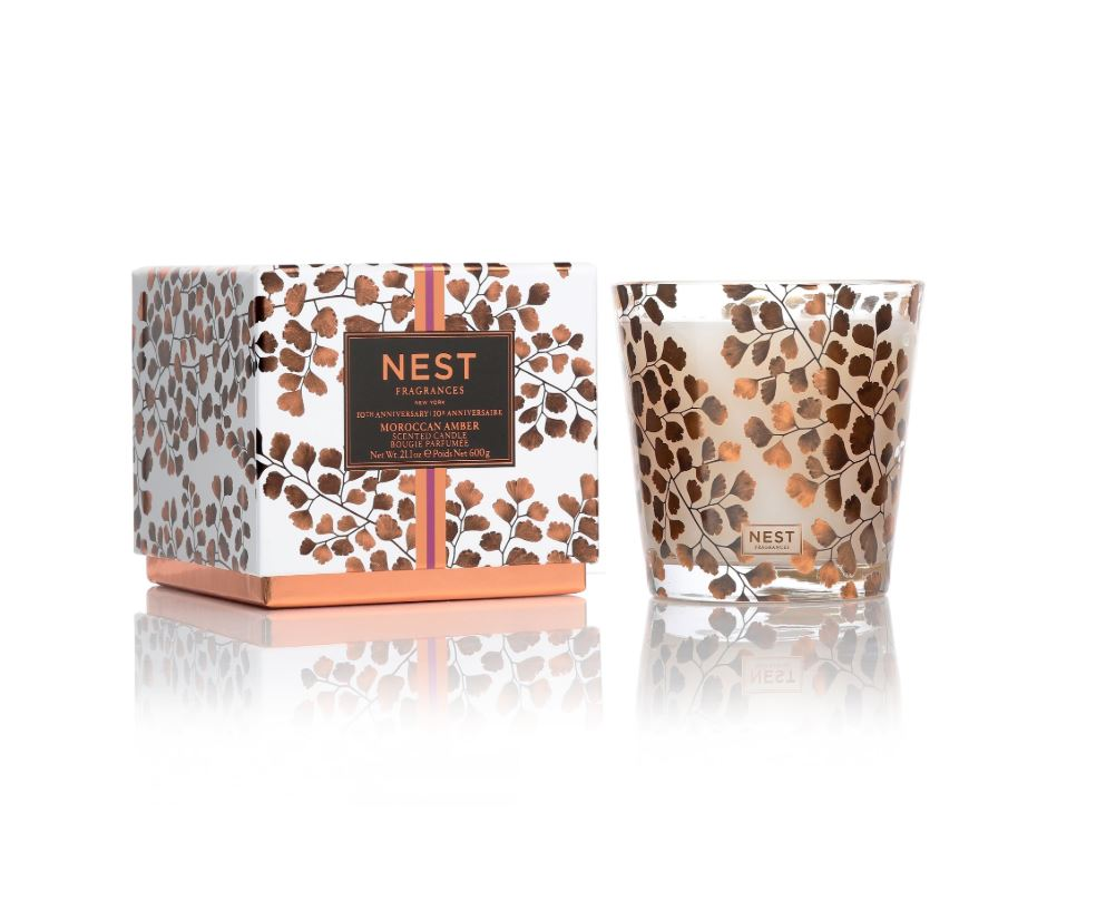 Moroccan Amber 3-Wick Candle - Limited Edition