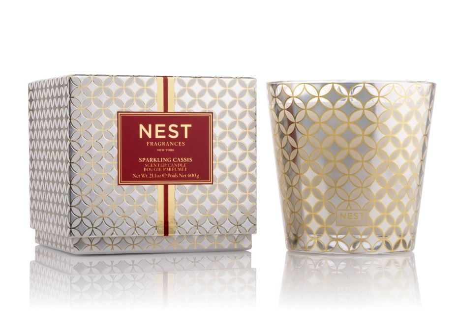 Sparkling Cassis 3-Wick Candle