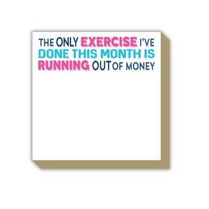Exercise Luxe Notepad