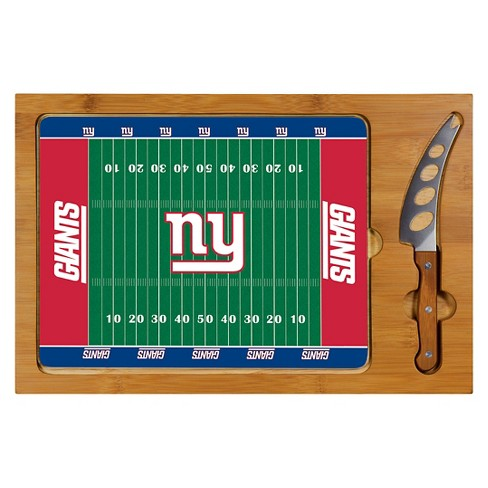 Cutting Board Tray & Knife Set - New York Giants