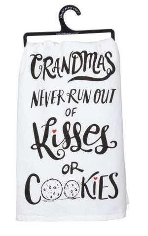 Kisses or Cookies Dish Towel
