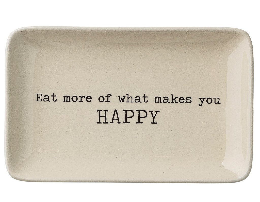 Eat More of What Makes You Happy Tray