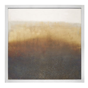 Torched Square Wall Art
