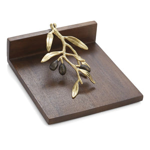 Olive Branch Dinner Napkin Holder