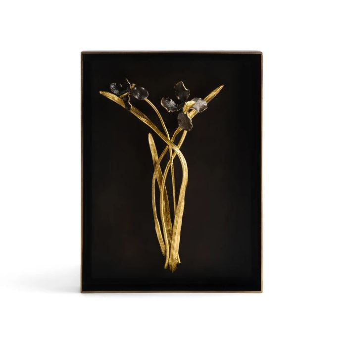 Black Iris Shadow Box