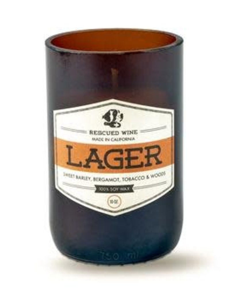 Lager Candle