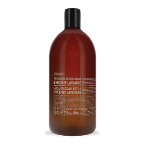 Marseille Liquid Soap Refill | Incense Lavender