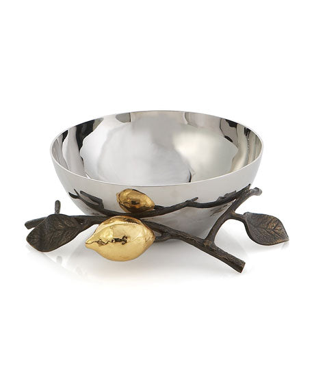 Lemonwood Nut Bowl
