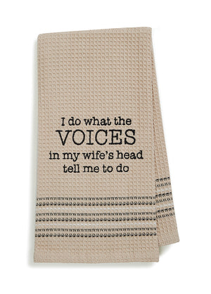 Voices Dish Towel