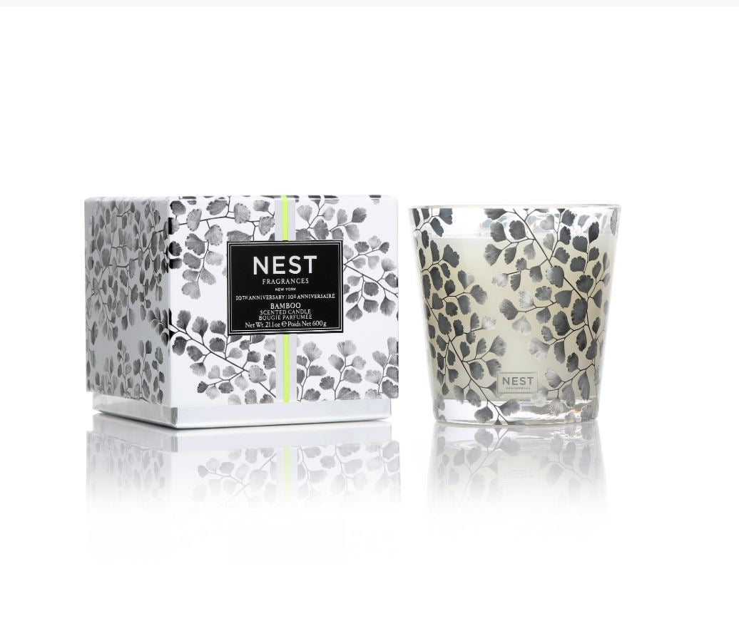 Bamboo 3-Wick Candle - Limited Edition