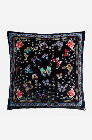 Papillon Pillow - Black
