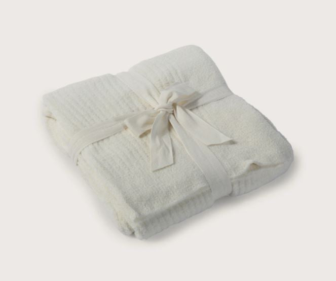 CozyChic Lite Ribbed Throw 54x72 - Pearl