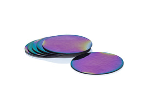 Rainbow Gold Coasters (Set of 6)